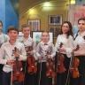 Юные скрипачи